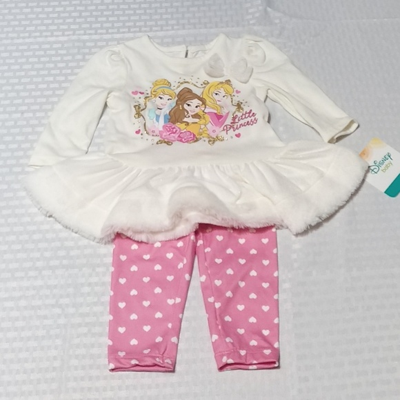 Disney Other - New Disney Princess Baby Girls Outfit